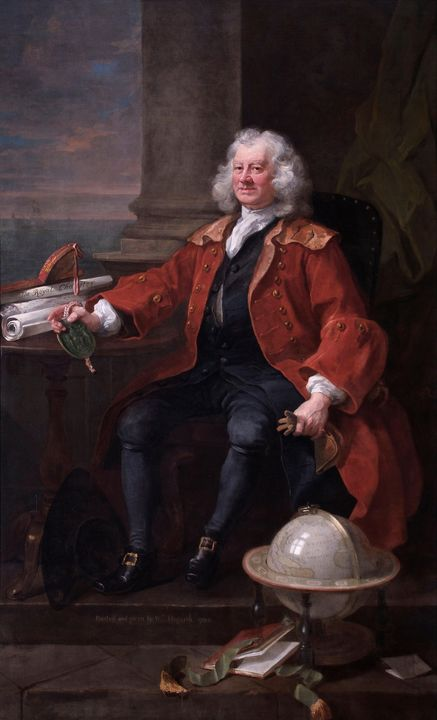 William Hogarth~William Hogarth, Por - Canvas printing