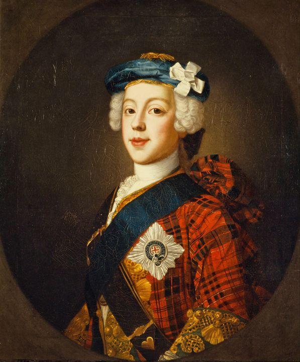 William Mosman~Charles Edward Stuart - Canvas printing
