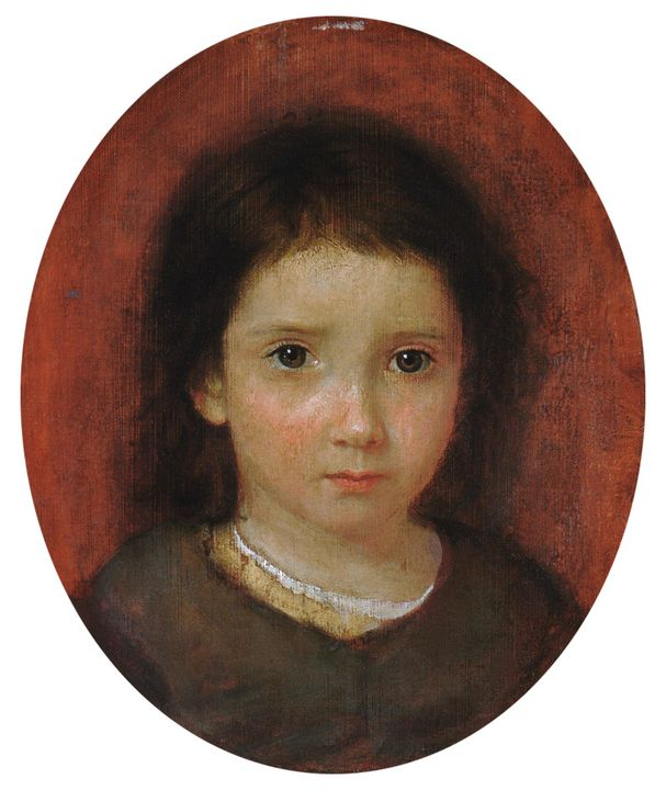 William Page~Daughter of William Pag - Canvas printing