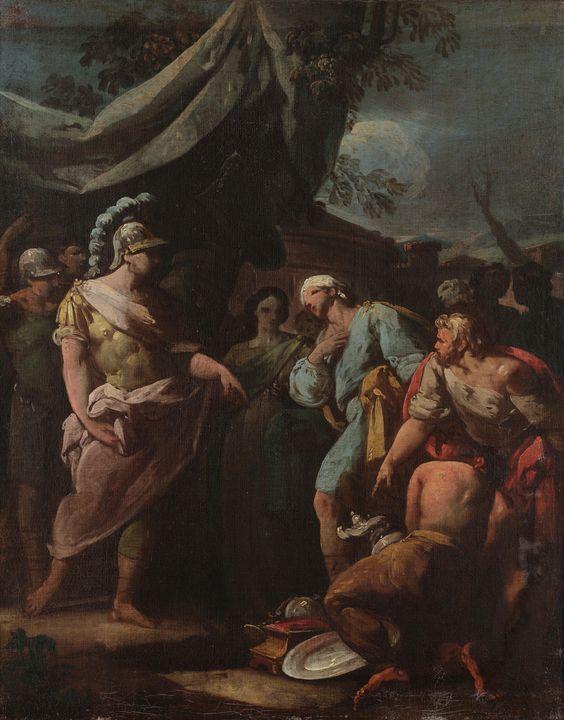 Unknown author~Mythological scene - Canvas printing