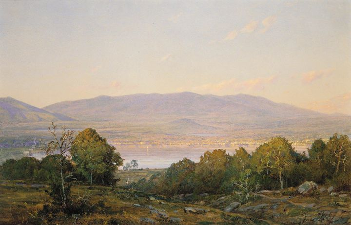 William Trost Richards~Sundown at Ce - Canvas printing