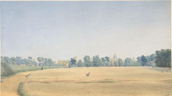 William Turner~View of University Pa - Canvas printing