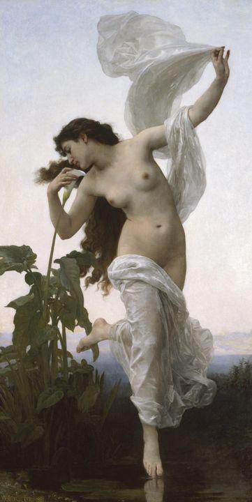 William-Adolphe Bouguereau~L'Aurore - Canvas printing