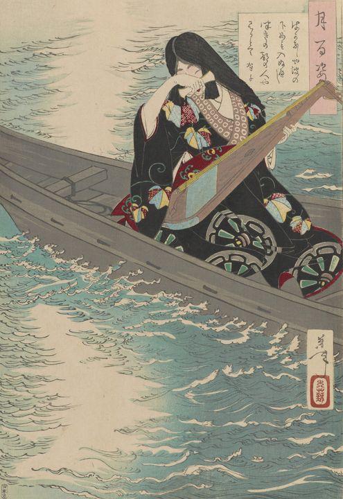 Yoshitoshi~How hopeless it isit woul - Canvas printing