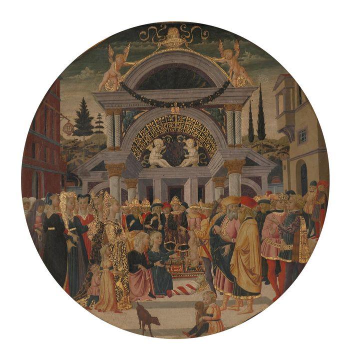 Scheggia (Giovanni di Ser Giovanni), - Canvas printing