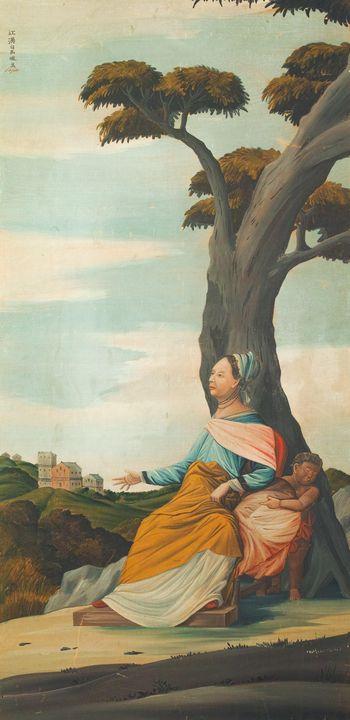 Shiba Kōkan~European Landscapes with - Canvas printing