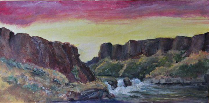 Canyon Sunrise - Tex Archer