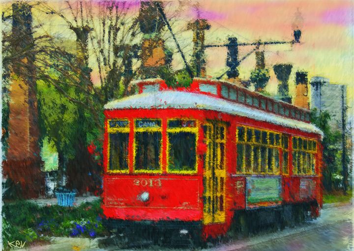 Canal Street Trolley - Kevin Rogerson
