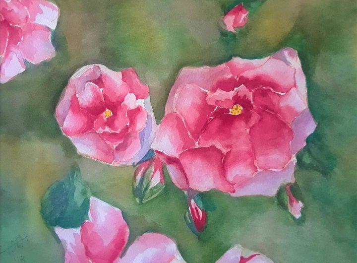 Roses - Kristal Melody Art