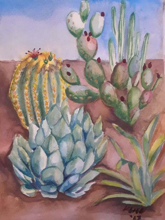 Sonoran Delight - Kristal Melody Art