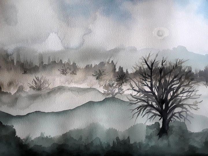 Desert Fog - Kristal Melody Art