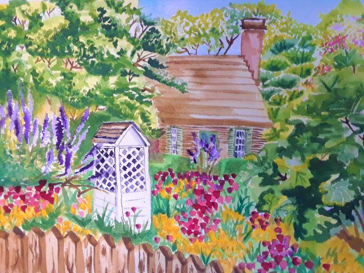 English Spring - Kristal Melody Art