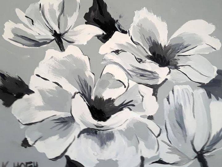 English Roses - Kristal Melody Art
