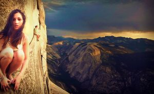 On The Yosemite Ledge