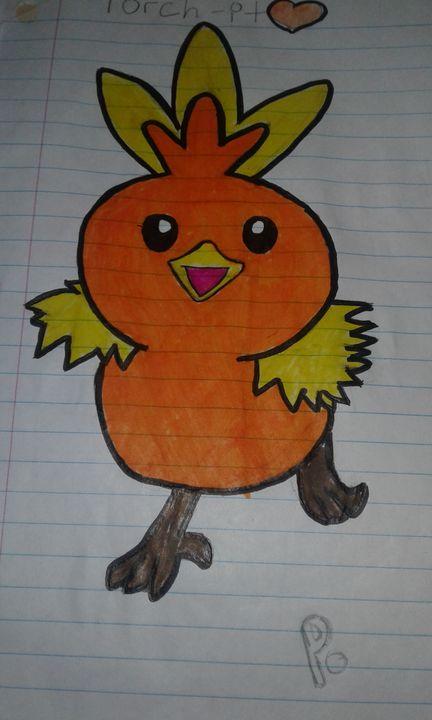 Torch Chick Pokémon - Drawings