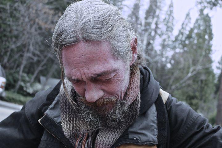 Sweet Homeless Man - Lepton