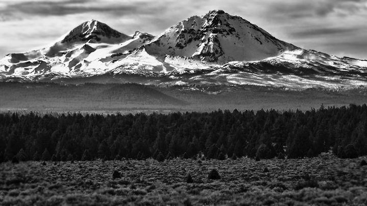 """""""The Sisters Mountains Oregon """" - The Photography of Michael C Bertsch"""