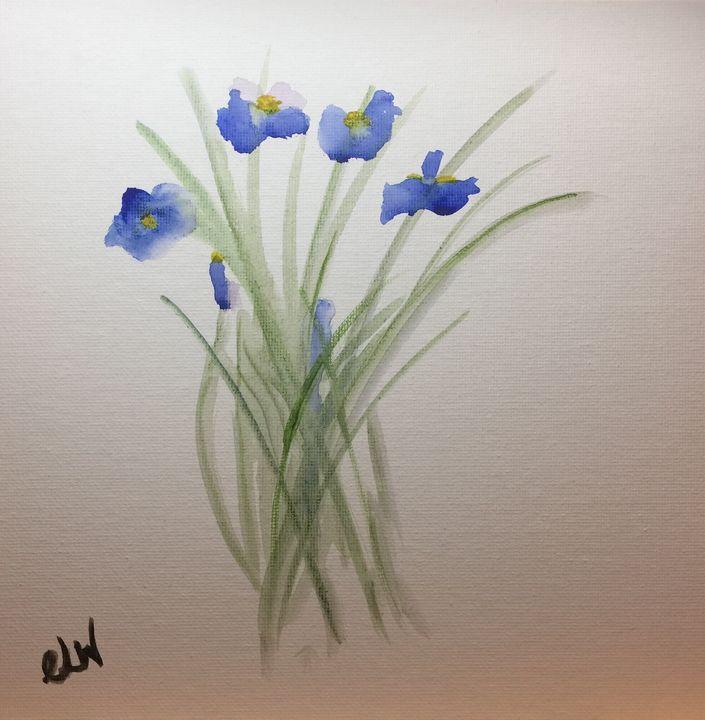 Irises - Art with Caron
