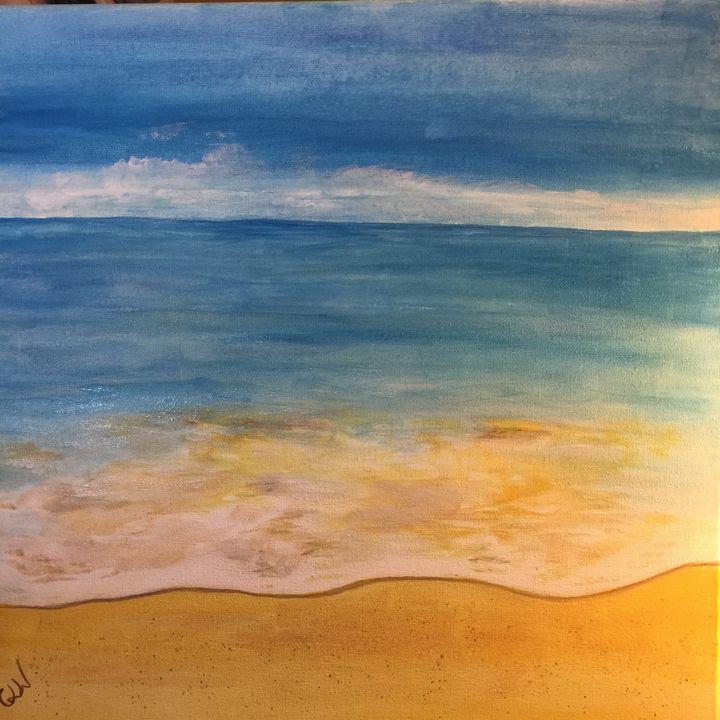Life's a beach - Art with Caron