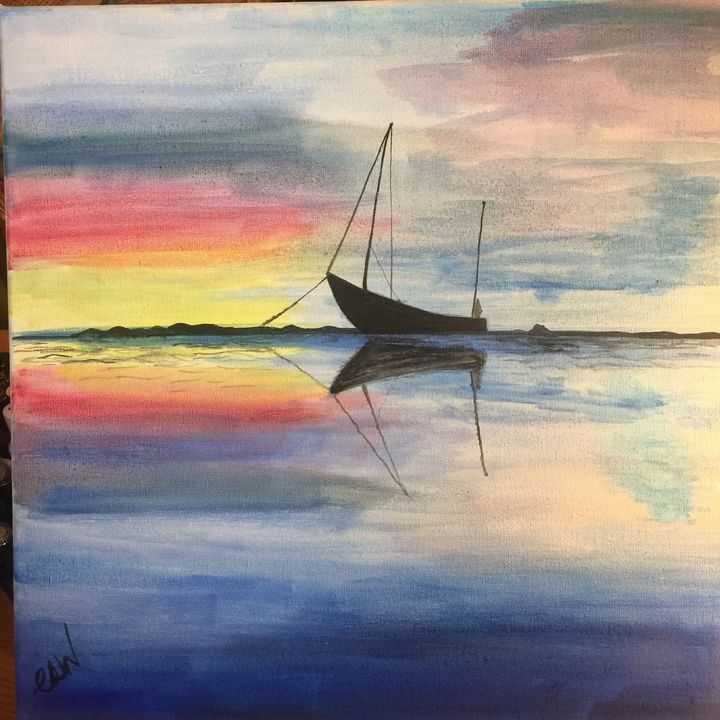 Still waters - Art with Caron