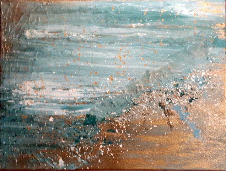 """""""Lugar de Curación"""" - Abstract & Prophetic Art by Evy"""