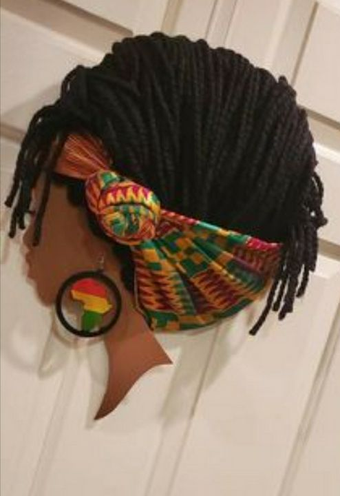 Queen Kenya - Abstract & Prophetic Art by Evy