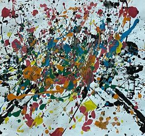 splash paint