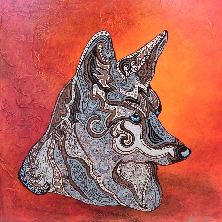 Wild Warrior - My Painted Path