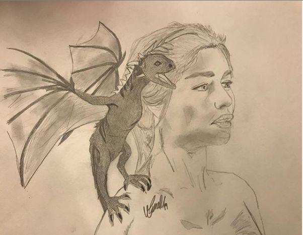 Khaleesi Sketch - Umur's Gallery