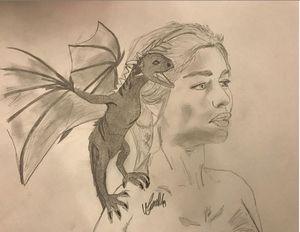 Khaleesi Sketch
