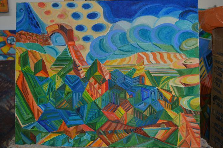 Multidimesional Views XIII - Montreal Artist