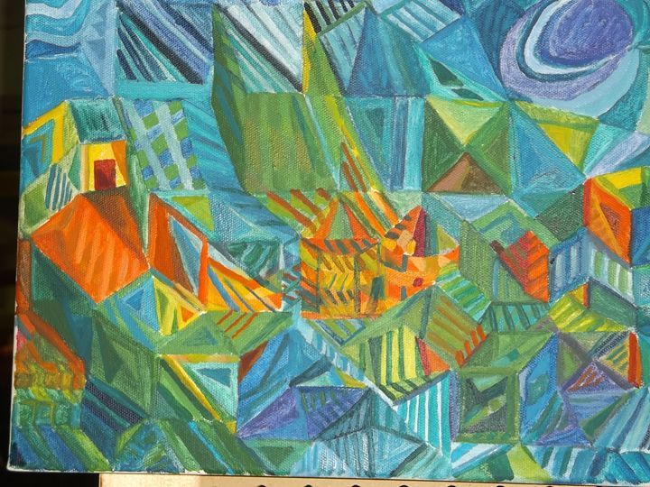 Multidimensional View XI - Montreal Artist