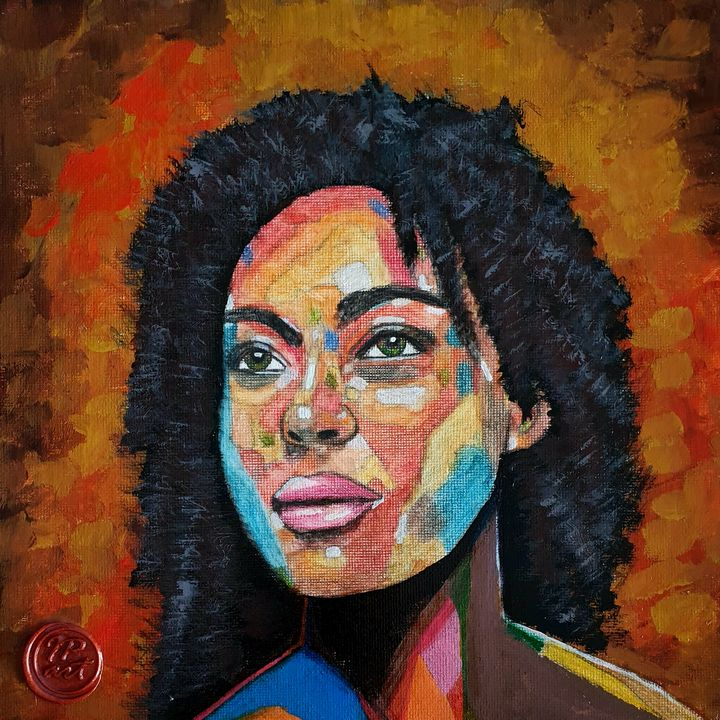 Portrait of a woman #11 - IrinaPetreArt