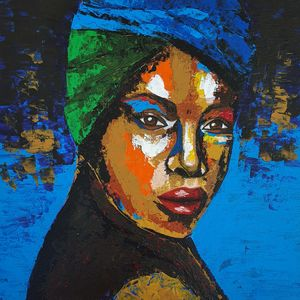 Portrait of a woman #2 - IrinaPetreArt