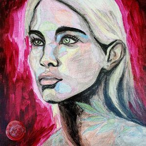 Portrait of a woman #9 - IrinaPetreArt