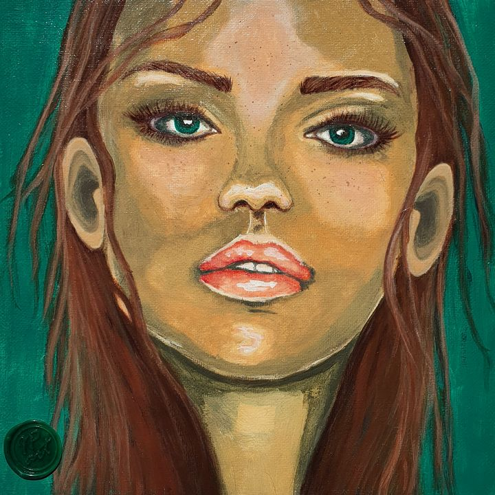 Portrait of a woman #8 - IrinaPetreArt