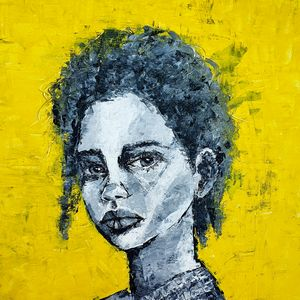 Portrait of a woman #7 - IrinaPetreArt