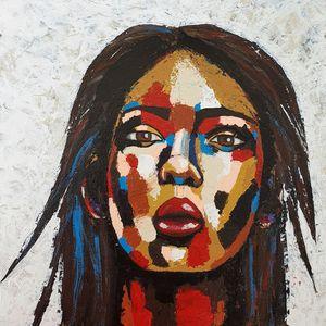 Portrait of a woman #5 - IrinaPetreArt