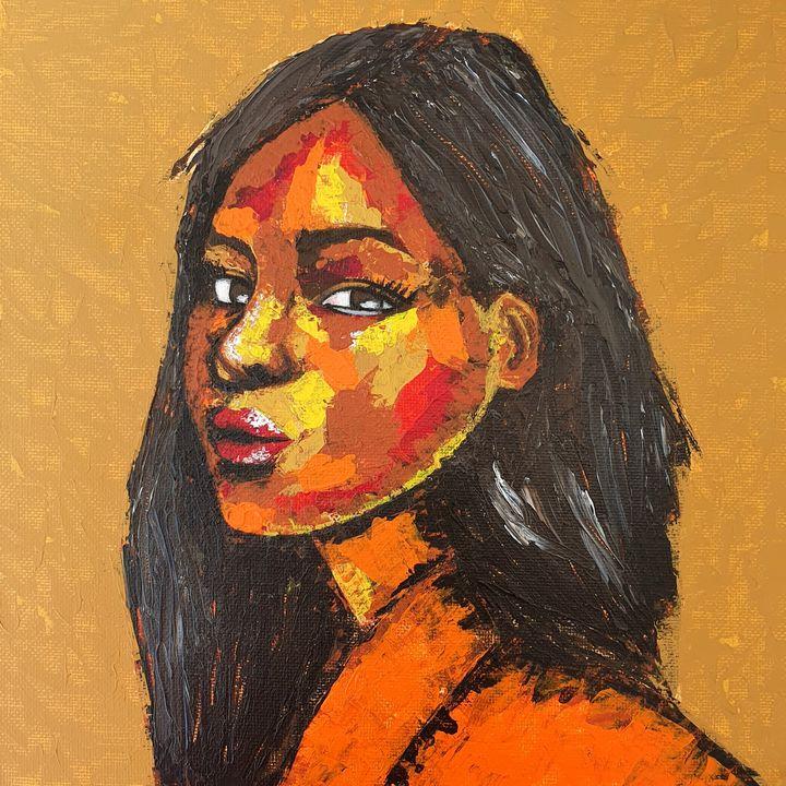 Portrait of a woman #4 - IrinaPetreArt