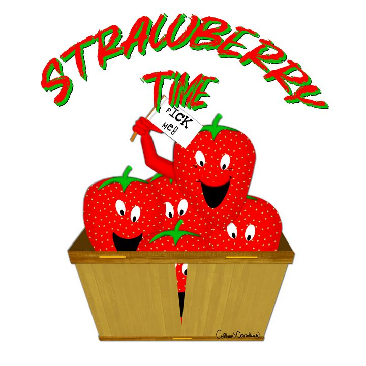 Strawberry Time! - ButterflyInTheAttic