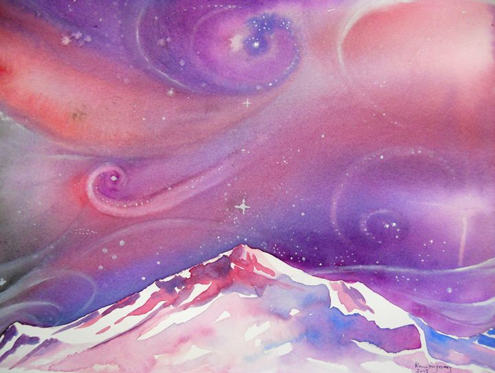 Mountain dreaming...... - Kevin's art gallery