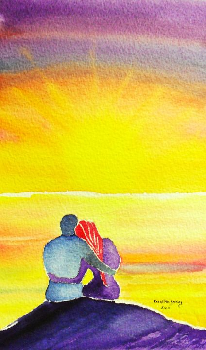 Lover's sunset - Kevin's art gallery