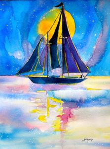 moonlight sailing.....