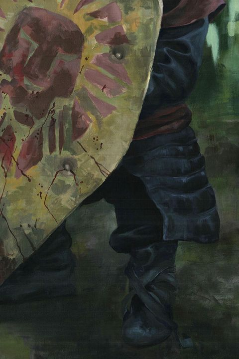 Live size Tyrion Lannister - detail - Canvasteros, paintings for geeks
