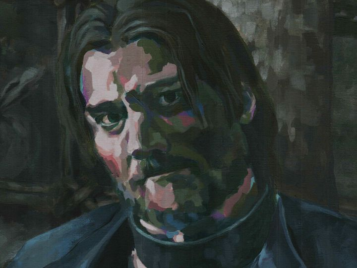 Jamie Lannister - Canvasteros, paintings for geeks