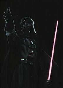 Live size Darth Vader
