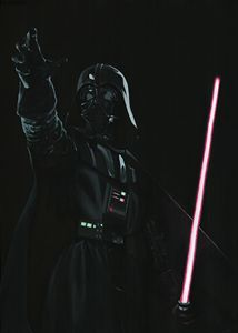 Live size Darth Vader - Canvasteros, paintings for geeks