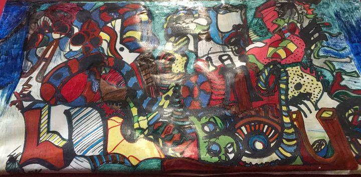 Graffiti ABC - RahMon Martin