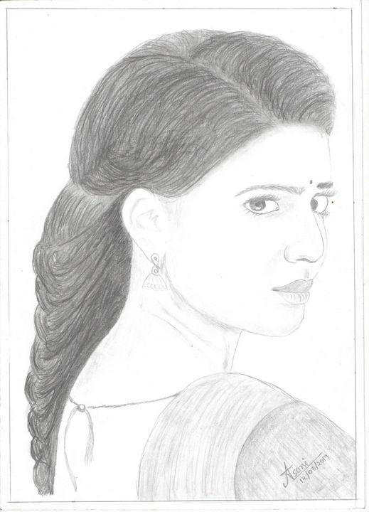 girl samantha - Lekh Soni