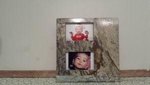 Granite picture frame